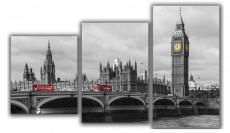 Набор из 3 панно (94х55 см) Лондонский мост XL-041