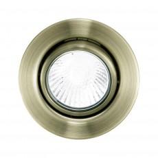 Комплект из 3 встраиваемых светильников Einbauspot 87380