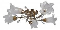 Потолочная люстра myOne 031/5PL Antique brass