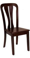 Набор стульев 2512DC вишня темная (2 шт.)