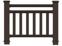 Ограждения для террас, балконов и беседок марки Holzhof